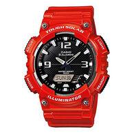 Casio AQS810WC-4AV World Time Solar-Powered Sports Watch