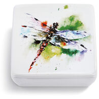 Big Sky Carvers Garden Visitor Dragonfly Lidded Vanity Box