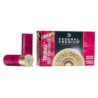 "Federal Premium Vital-Shok TruBall Deep Penetrator 12 GA 2-3/4"" 1 oz. TruBall Rifled Slug Ammo (5)"