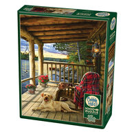 Outset Media Jigsaw Puzzle - Cabin Porch
