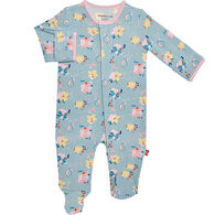 Magnetic Me Infant Girl's Notting Hill Modal Magnetic Footie Pajama