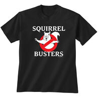 Earth Sun Moon Trading Men's Squirrel Busters Short-Sleeve T-Shirt