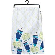 Kay Dee Designs Saltwater Buoys Flour Sack Towel