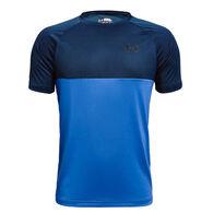Under Armour Boy's Tech Colorblock Short-Sleeve T-Shirt