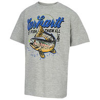 Carhartt Boys' Out Fish Them All Force Short-Sleeve T-Shirt