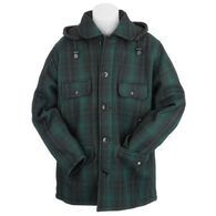 Johnson Woolen Mills Men's Classic Button Mackinaw Jacket