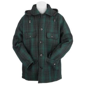 Johnson Woolen Mills Mens Classic Button Mackinaw Jacket