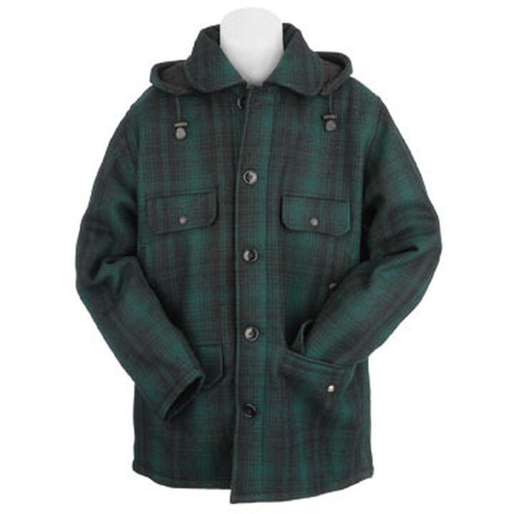 227d9ec6d225b Johnson Woolen Mills Men's Classic Button Mackinaw Jacket