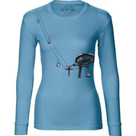 Ski The East Women's Double Chair Long-Sleeve T-Shirt