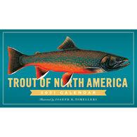 Trout of North America 2021 Wall Calendar by Joseph R. Tomelleri