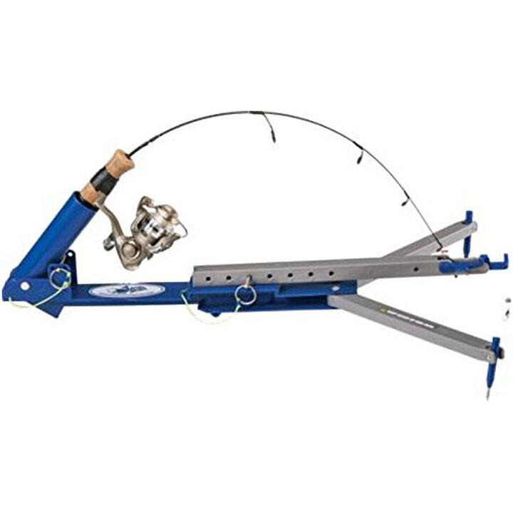 Jawjacker hook setting tip up kittery trading post for Jaw jacker ice fishing