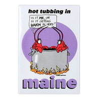 Entertain Ya Mania Hot Tubbing In Maine Magnet
