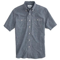 Southern Tide Men's Performance Dock Short-Sleeve Shirt
