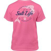 Salt Life Girls' Mermaid Paradise Short-Sleeve T-Shirt