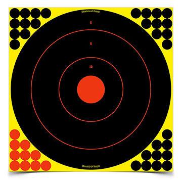 "Birchwood Casey Shoot-N-C 17.25"" Bull's-eye Self-Adhesive Target - 5 Pk."