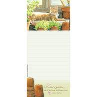 Pumpernickel Press Greenhouse Window Magnetic List Notepad