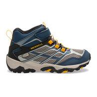 Merrell Boys' Moab FST Mid A/C Waterproof Sneaker/Hiking Shoe