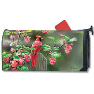 MailWraps Cardinal Beauty Magnetic Mailbox Cover