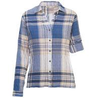 Woolrich Women's Carabelle Woven Long-Sleeve Shirt