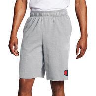 Champion Men's Powerblend C Logo Fleece Short