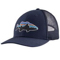 Patagonia Men's Fitz Roy Fish LoPro Trucker Hat