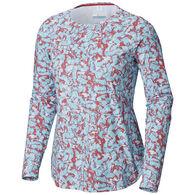 Columbia Women's Printed PFG Zero Long-Sleeve Shirt