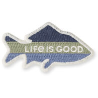 Life is Good Fish Positive Patch