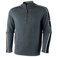 Obermeyer Men's Vista Half Zip Sweater Pullover