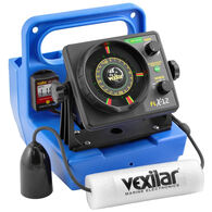 Vexilar Genz Pack FLX-12 w/ 12 Degree Ice-Ducer & DD100 Ice Fishing System