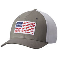 Columbia Men's PFG Mesh Snap Back Ball Cap - XXL