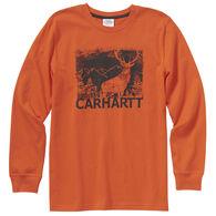 Carhartt Boy's Deer Silhouette Long-Sleeve Shirt