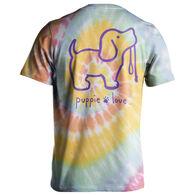 Puppie Love Women's Tie Dye #2 Pup Short-Sleeve T-Shirt