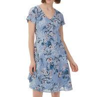 Charlie B Women's Print Gauze Dress