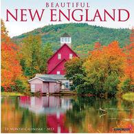 Willow Creek Press Beautiful New England 2022 Wall Calendar