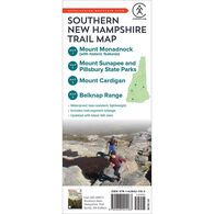 AMC So. New Hampshire Trail Map: Mt. Monadnock, Mt. Sunapee & Pillsbury State Parks, Mt. Cardigan & Belknap Range