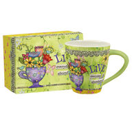 Lang Color My World Abundance Artisan Cafe Ceramic Mug