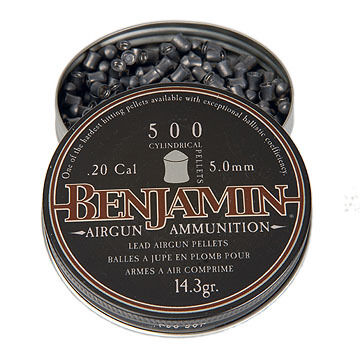 Benjamin Cylindrical 20 Cal. Pellet (500)