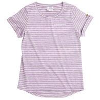 Carhartt Girl's Force Stripe Short-Sleeve T-Shirt