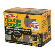 Reliance Double Doodie Waste Bag w/ Bio-Gel - 6 Pk.