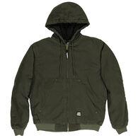Berne Men's Original Washed Quilted Lined Hooded Jacket