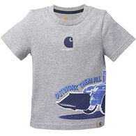 Carhartt Infant/Toddler Boys' Out Work Them All Short-Sleeve T-Shirt