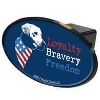 Dog is Good Trailer Hitch Cover