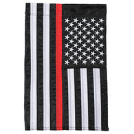 Carson Home Accents Flagtrends Thin Red Line Garden Flag