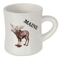 Carville's Moose Boots Cafe Ceramic Mug