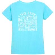 Where Life Takes You Women's Lake Activity Short-Sleeve T-Shirt