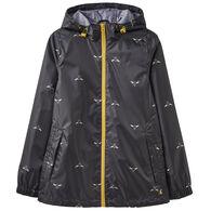 Joules Women's Golightly Short Waterproof Packaway Jacket