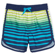 Hatley Boy's Cool Stripes Swim Short