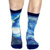 Good Luck Sock Men's The Starry Night Crew Sock
