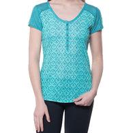 Kuhl Women's Kortina Henley Short-Sleeve Shirt