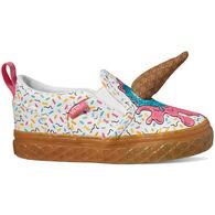 Vans Toddler Girls' Asher V Ice Cream Slip-On Shoe